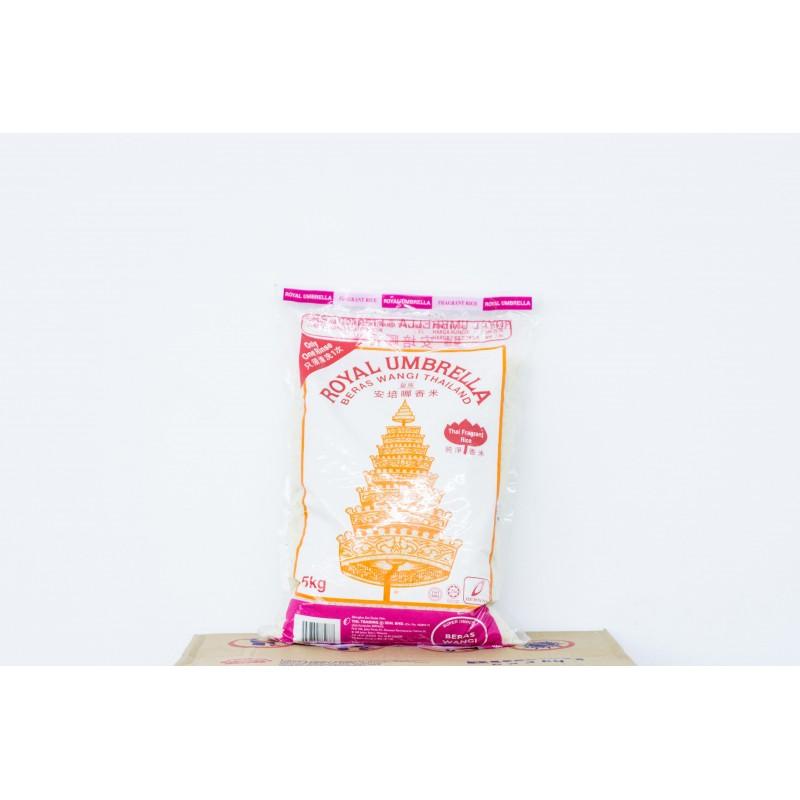 Royal Umbrella Beras Wangi Thailand Thai Fragrant Rice 5KG